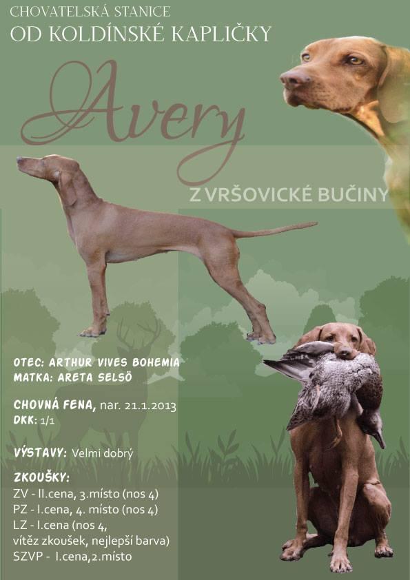 Avery z Vršovické bučiny
